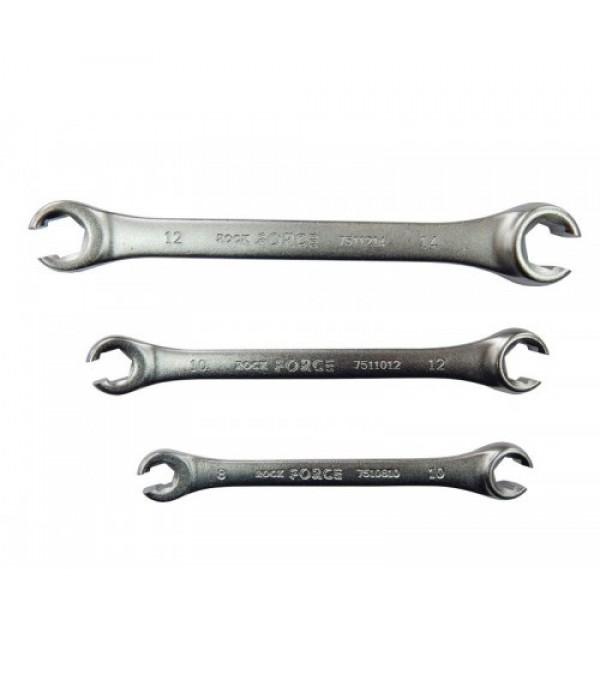 Ключ разрезной 8х10мм Rock FORCE RF-7510810