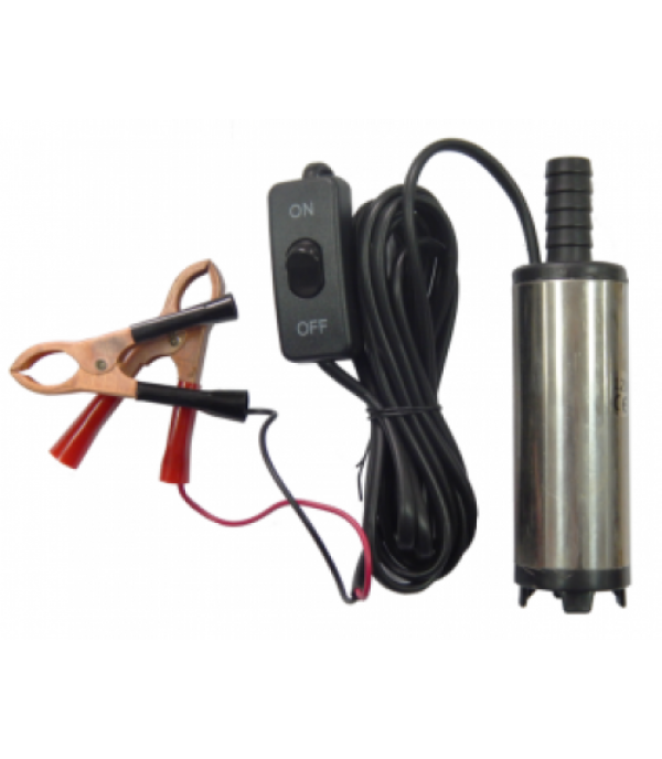 Насос для перекачки топлива (12В, диам. 38мм, мощность 40Вт, 20 л/мин., диам. выходного отверстия 16мм, 8500 об/мин, длина провода 3м) Partner ST33-10