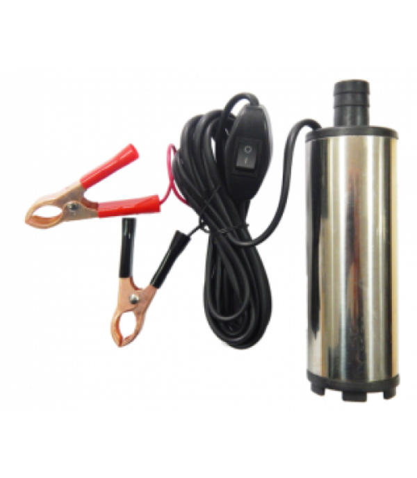 Насос для перекачки топлива (12В, диам. 51 мм, мощность 60Вт, 30 л/мин., диам. выходного отверстия 19мм, 8500 об/мин, длина провода 3м) Partner ST33-12