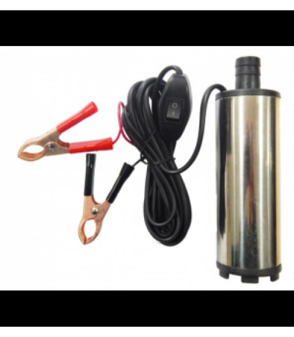 Насос для перекачки топлива (24В, диам. 51 мм, мощность 60Вт, 30 л/мин., диам. выходного отверстия 19мм, 8500 об/мин, длина провода 3м) Partner ST33-14