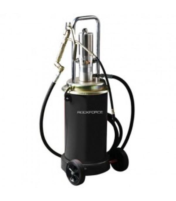 Пневматический перекатной нагнетатель смазки под закладку 17кг(50:1, 0-0.8 л/мин, давление смазки: 400bar) Rock FORCE RF-TRG2093(2095)