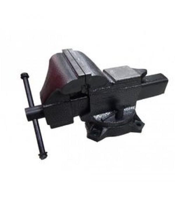 """Тиски стальные поворотные с наковальней 6""""-150мм Forsage F-6540206"""