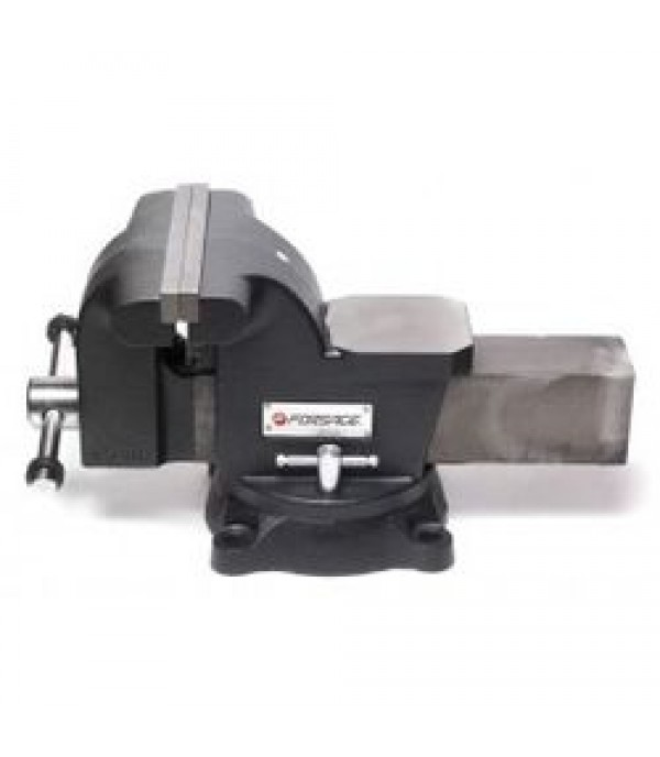 """Тиски стальные поворотные с наковальней 8""""-200мм Forsage F-6540208"""