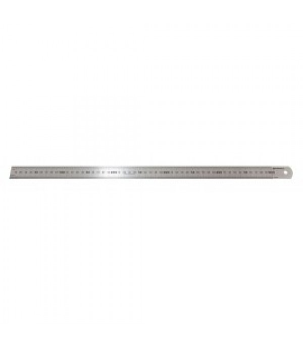 Линейка металлическая измерительная с таблицей перевода 300мм Forsage F-5096P30