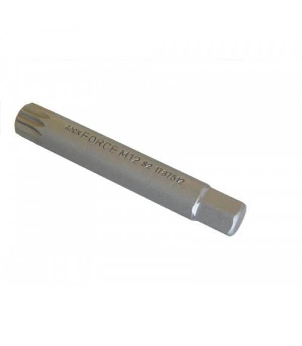 Бита SPLINE M12х75ммL под 10мм Rock FORCE RF-1787512