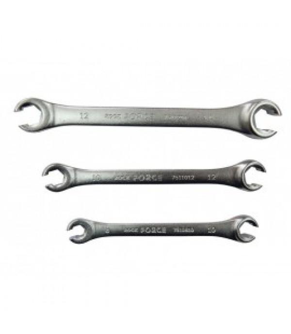 Ключ разрезной 10х12мм Rock FORCE RF-7511012