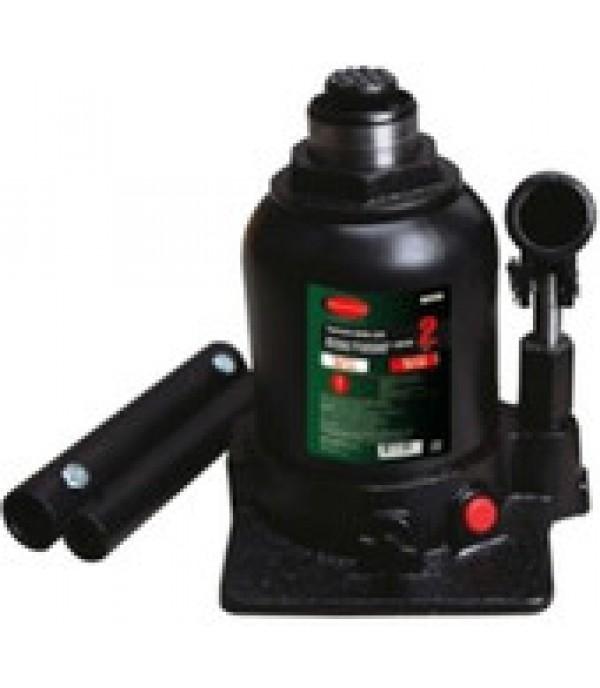 Домкрат бутылочный двухштоковый с клапаном + дополнительный ремкомплект, 2т Rock FORCE RF-TF0202