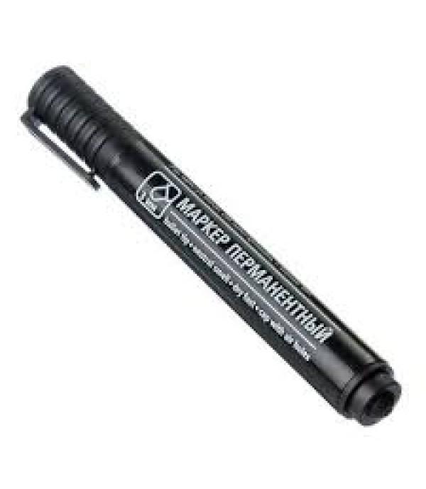 Маркер перманентный черный пулевидный наконечник 3мм APRO 526-503