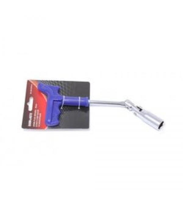Ключ свечной шарнирный T-образный усиленный 16мм BaumAuto BA-8073PH16