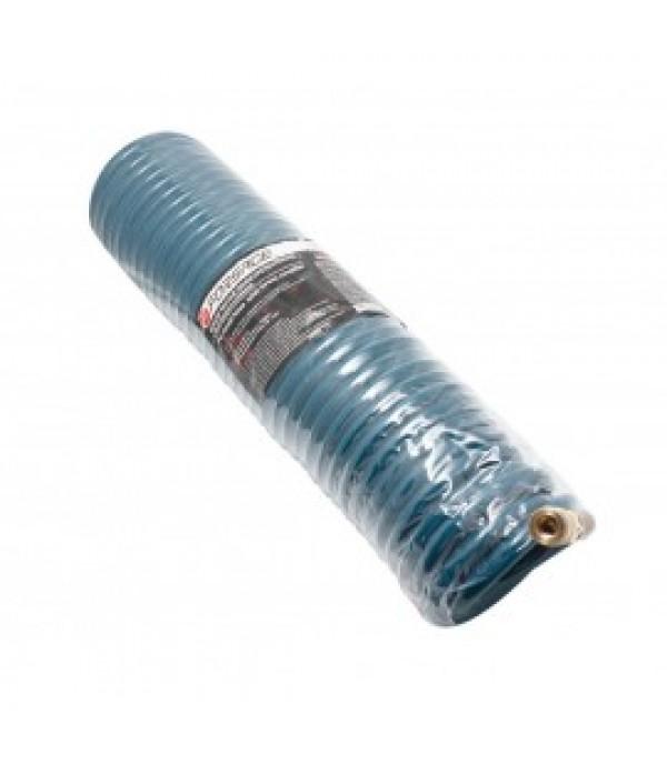 Шланг витой полиуретановый 10мм х 14мм х 10м с быстроразъемами (латунь, 15bar, от -20 до +60 гр.) Forsage F-1410-10M