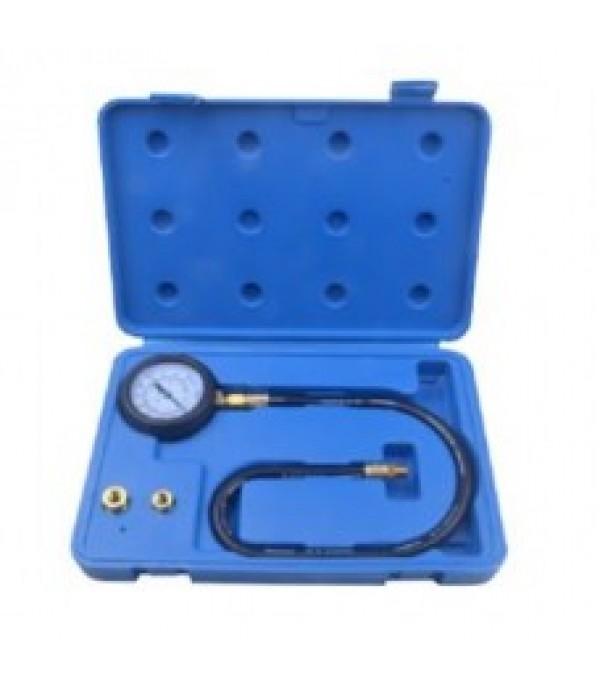 Тестер давления масла в наборе с резьбовыми адаптерами 3пр., (0-7bar), в кейсе Rock FORCE RF-912G03(RF-903G1)