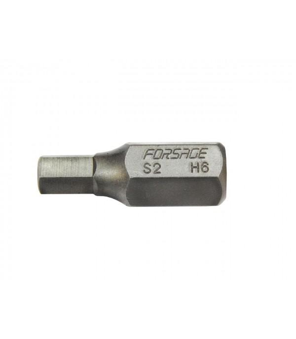 Бита 6-гранная 30ммL 5мм под 10мм Forsage F-1743005