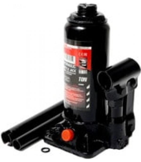 Домкрат бутылочный с клапаном 5т+доп. ремкомплект (h min-185мм, h max-355мм,),в кейсе FORCEKRAFT FK-T90504S