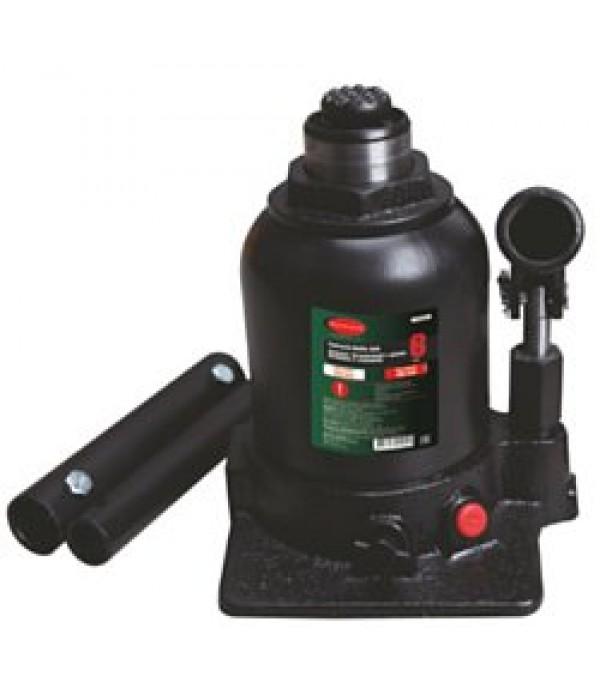Домкрат бутылочный двухштоковый + доп ремкомплект, 6т Rock FORCE RF-TF0602