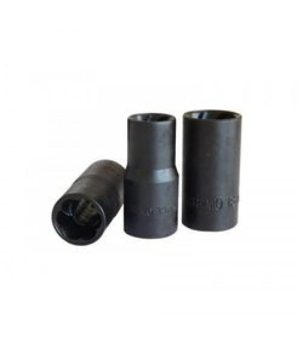 """Головка-экстрактор для поврежденных болтов/гаек 18ммх50мм, 1/2"""" Forsage F-90618"""