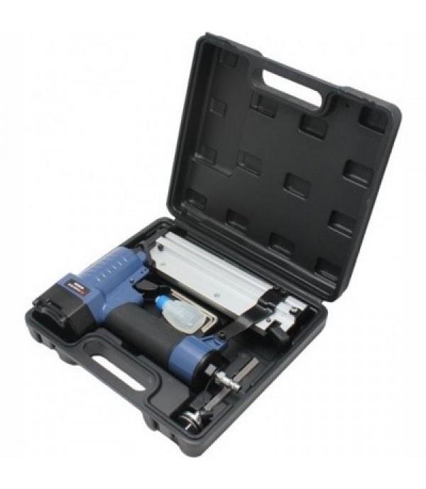 Степлер пневматический 2в1 в комплекте со сменным бойком (штифт: L 10-50мм; скоба: crown-5.8мм, L 10-50мм) Forsage F-03F0017