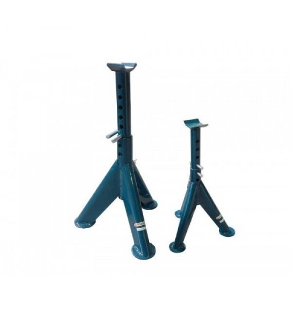 Подставка ремонтная механическая с двойной фиксацией и упорными пятками 3т (min-370мм, max-590мм) Forsage TRF30301-1
