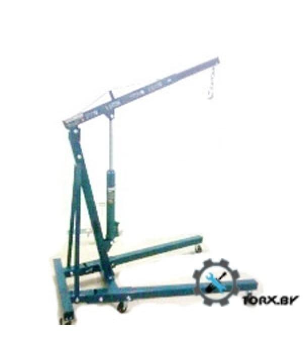 Кран гидравлический усиленный складной 2т (высота подъема 2200мм, длина стрелы:1000-1570мм) RockForce RF-F32002X