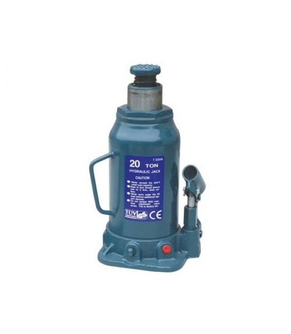 Домкрат столбик бутылочный высокий 20 т  (h min 225мм, h max 440) PARTNER PA-T92004