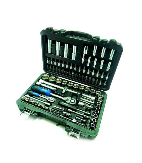 """Набор инструмента 1/4"""" и 1/2"""" 6-граней 4-32 мм 94 пр FORSAGE 4941-5"""