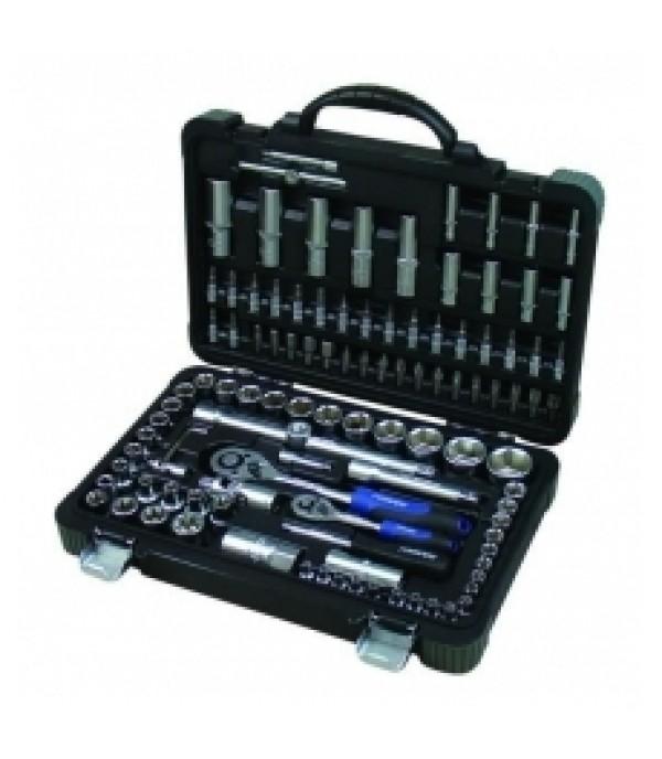 """Набор инструментов 108 предметов 1/4"""" и 1/2"""" 6 граней 4-32 мм FORSAGE 41082-5"""