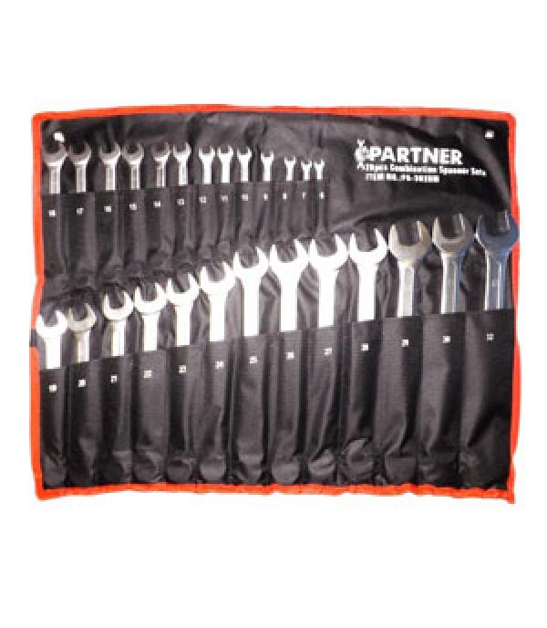 Набор ключей рожково-накидных в пастилке 6-32 26 пр Partner PA3026M