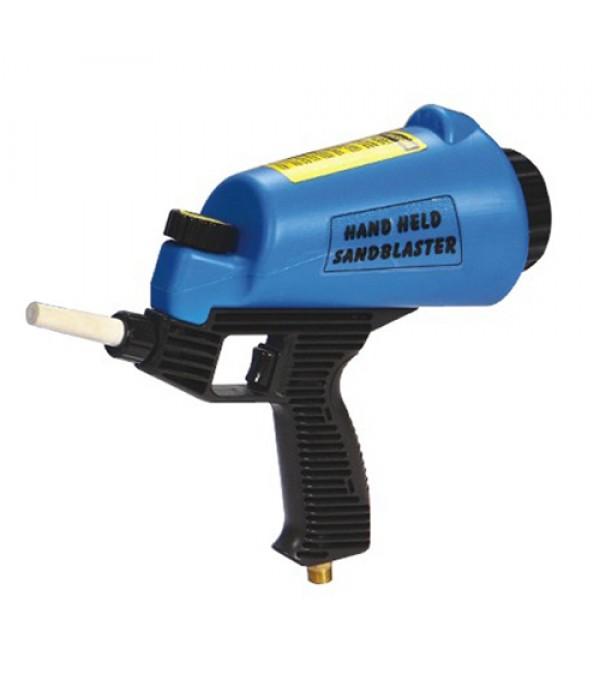 Пескоструйный пистолет с емкостью для песка и керамическим соплом 1 литр APRO HSB-II