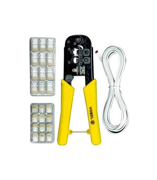 Плоскогубцы для сетевого кабеля VOREL 45503