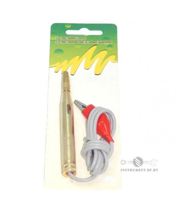 Пробник (контролька) с контактным зажимом 6-24В PARTNER PA-88423