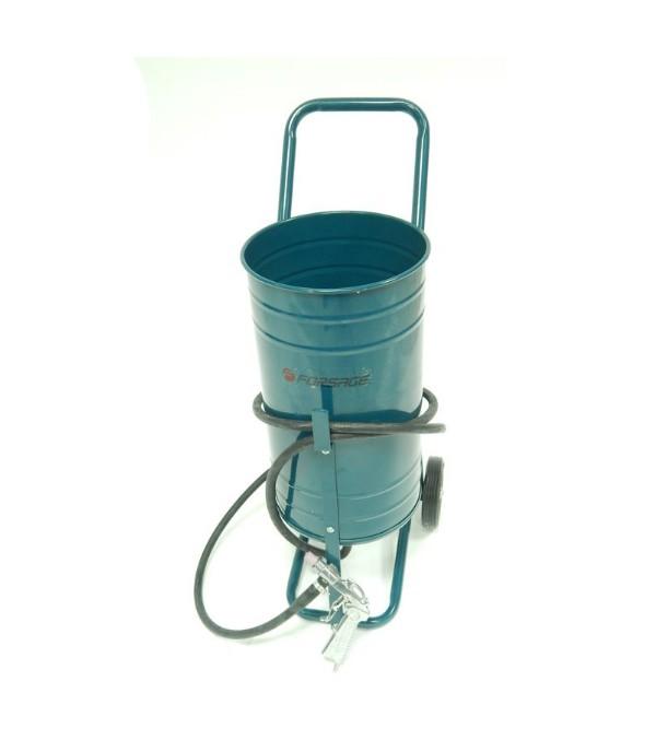 Передвижной пескоструйный аппарат инжекторного типа (бак 19л, 170-566л/мин, 4-8,5атм) Forsage 90SFSB