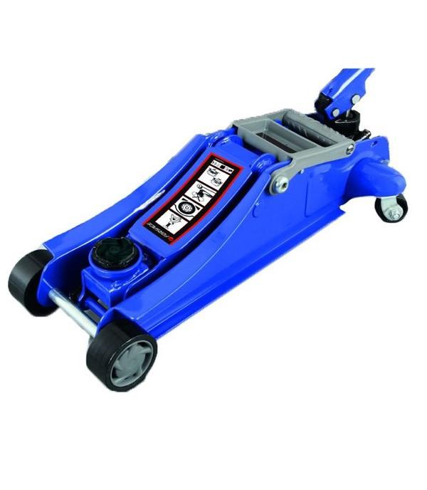 Домкрат подкатной  2 т с поворотной ручкой  180 градусов и низким подхватом (h min 105мм, h max 350мм) Forsage TH22010