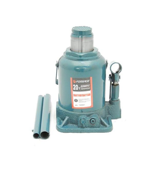 Домкрат бутылочный 20т с клапаном (h min 235мм, h max 440мм,вес 10,5 кг) Forsage T92004