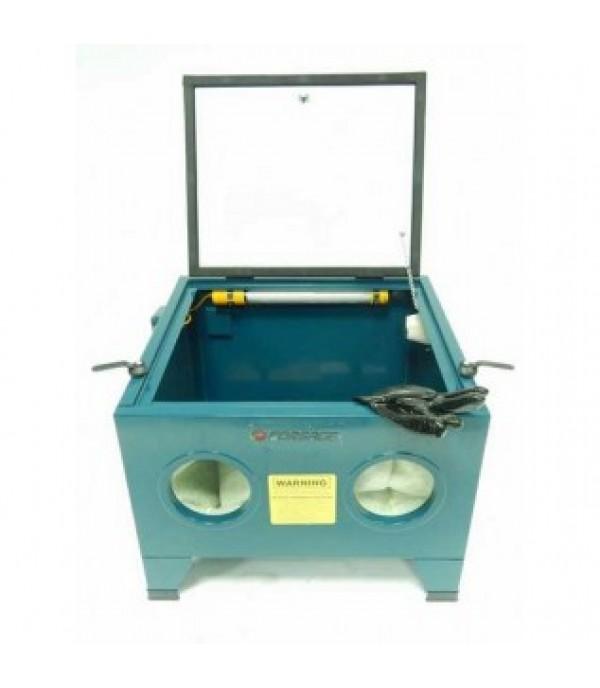 Пескоструйная камера настольная пневмо (объем 72л, 6.8 атм, 340 м/мин) Forsage SBC90