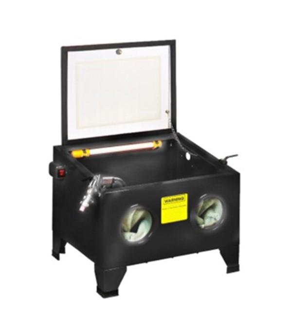 Пескоструйная камера настольная пневмо (72л, 6.8 атм, 340 л/мин) Rock FORCE SBC90