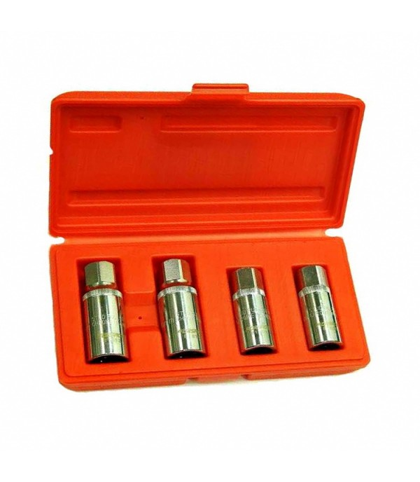 Шпильковерты набор 4 предмета (6,8,10,12 мм) FORSAGE 5042